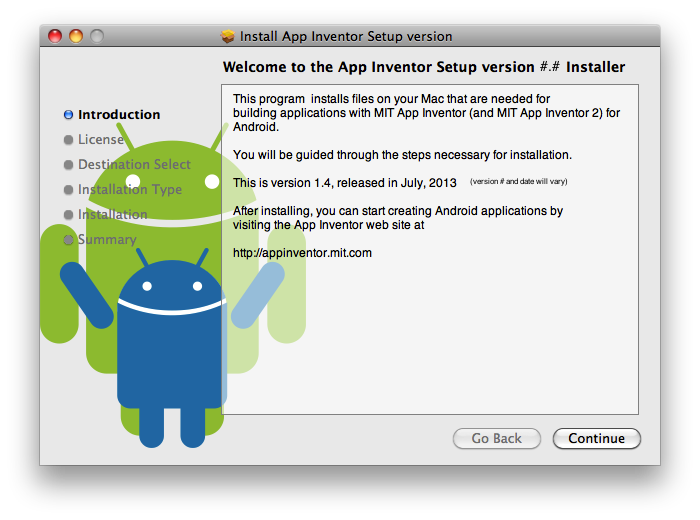 Change my software android installer for apple ios app