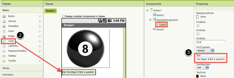 Magic 8 Ball Explore Mit App Inventor