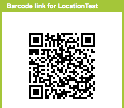 cara membuat barcode lokasi di hp android