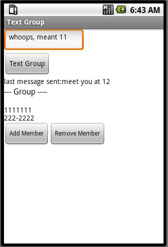 TextGroup (Part 2)