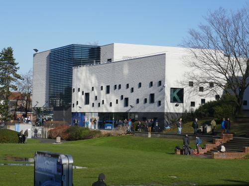 Picture of the ULB campus building K