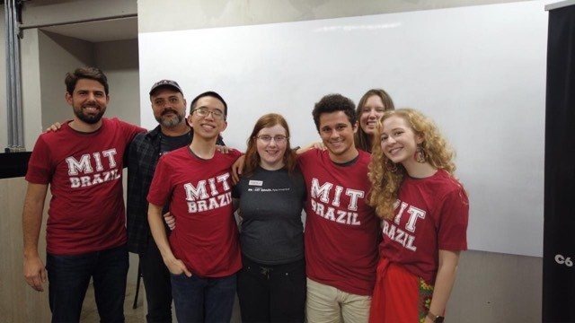 MIT students in Brazil