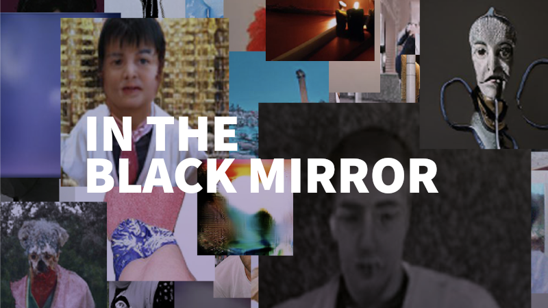 black mirror collage